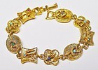 ART Imitation Slide Bracelet - Bees and Snakes