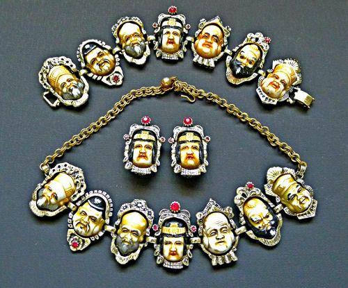 Seven Immortals 1950s Parure - Famous Collectors Item