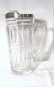 Sterling and Crystal Cocktail Pitcher by Tiffany Hawkes