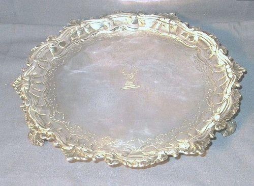 George II Silver Salver 1746