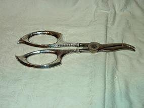 Sterling Silver Grape Shears by Watson Silver