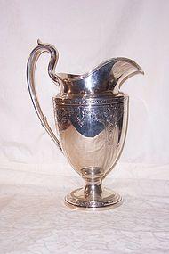 Gorham Sterling Silver Pitcher; Cinderella