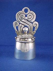 William Spratling Mayan Sterling Silver Dinner Bell