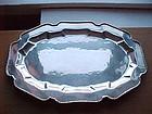 "20"" WILLIAM SPRATLING Sterling Silver Platter - Tray"