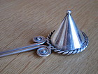 HECTOR AGUILAR 990 Sterling Silver Candle Snuffer