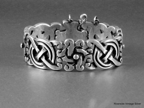 William SPRATLING Fertility Bracelet  Sterling Silver 1940's