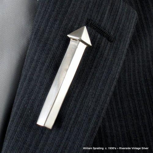 "c. 1930's William Spratling 3"" Long Arrow Pin ~ Sterling Silver"
