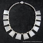 William Spratling Trapezoid Necklace ~ Sterling Silver