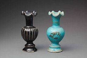 A Pair of Cizhou Vase of Jin/Yuan Periods.