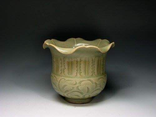 A Beautiful Yazhou Floral Vase