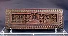 A Tibet Manuscript Cover of 13th/14th Century