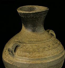 An Archaic Jar of Han Dynasty(1st BC-)