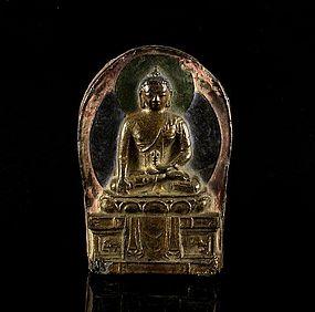 A Charming Tibetan Amulet of 18th Century