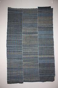 Japanese Indigo dye Stripe and zanshi weave futon Cover