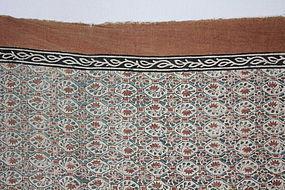 Edo Sakai-Sarasa Cotton Hand-spun Thick Old fabric