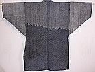 Japanese  Meiji indigo dye sashiko donza hanten !!