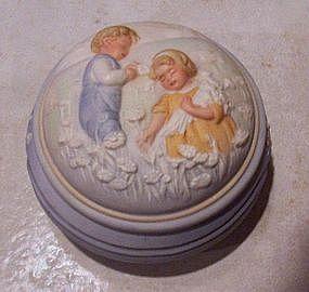 Avon Golden Dreams Porcelain Music Box
