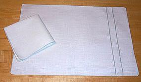Linen Placemats and Napkins Set