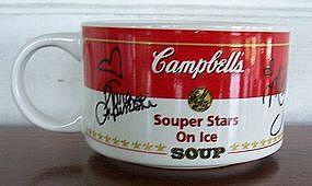 Campbell's Souper Stars on Ice Soup Mugs