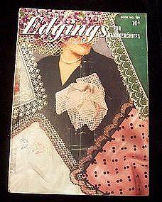 Crocheted Edgings for Handkerchiefs Instruction Book