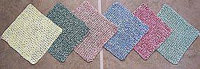 Crocheted Dish Cloths - Handmade
