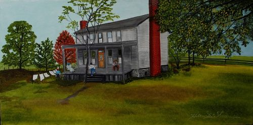 Front Porch by Helen LaFrance