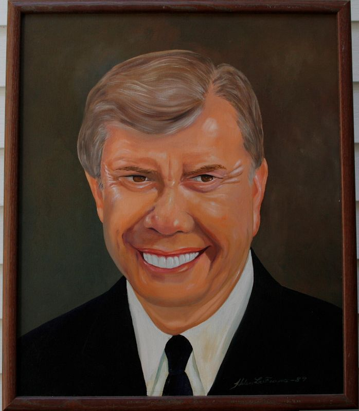Jimmy Carter by Helen LaFrance