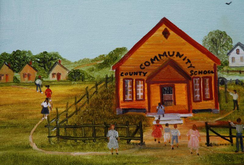 Community County School by Helen LaFrance