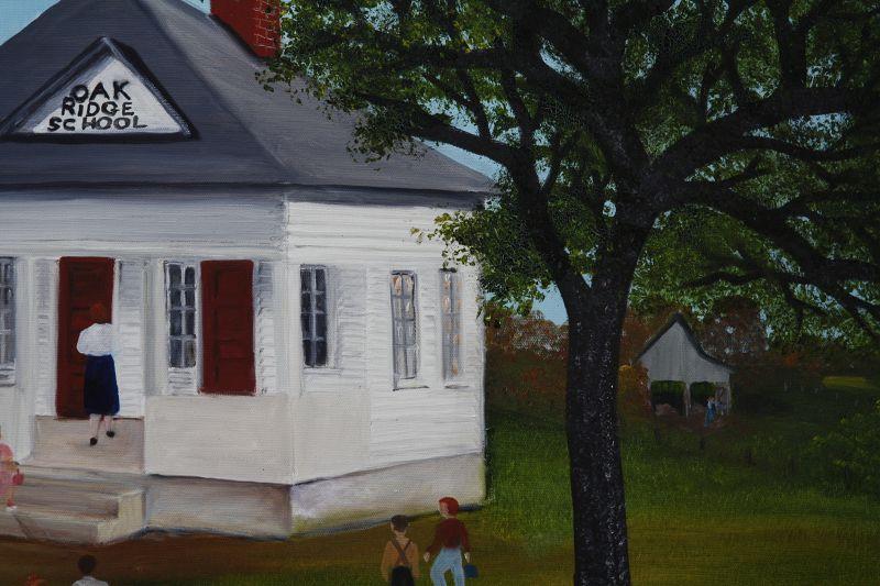 Oak Ridge School by Helen LaFrane
