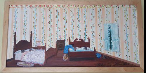 Children Sleeping by Helen LaFrance