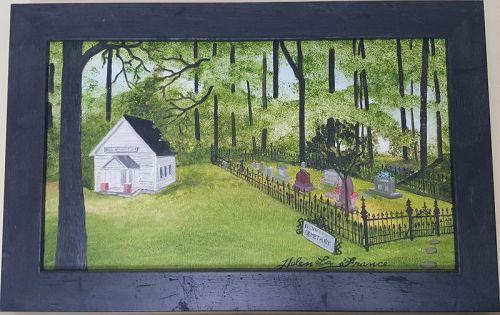 Church Cemetery by Helen LaFrance