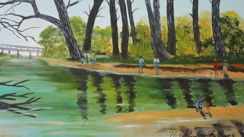 Fishing by Helen LaFrance