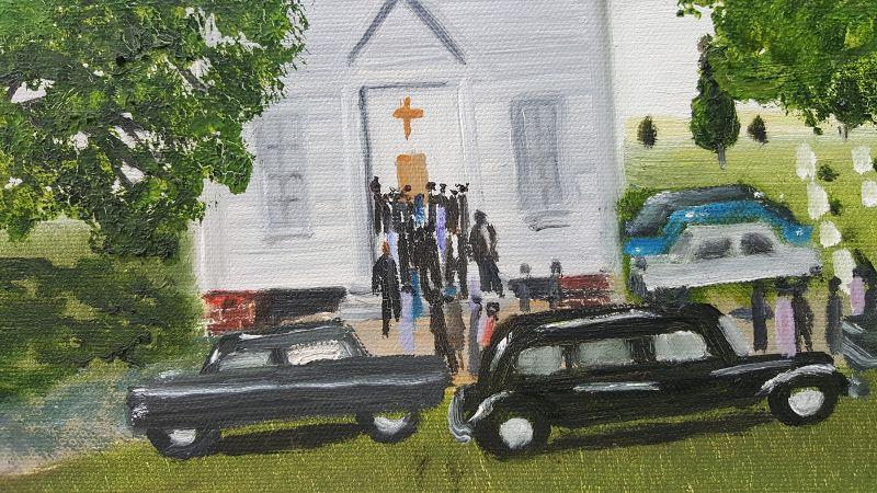 Church Funeral by Helen LaFrance