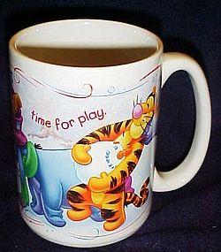 Disney Winnie the Pooh snow day   large coffee mug