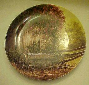 Country seed plater plate by Maurice Harvey plate 2