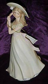 Homco Melanie figurine Masterpiece Collection