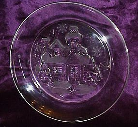 Arcoroc France Welcome Home clear salad plate