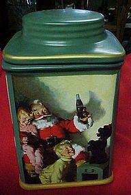 Sakura  Coca Cola Santa and children cookie jar