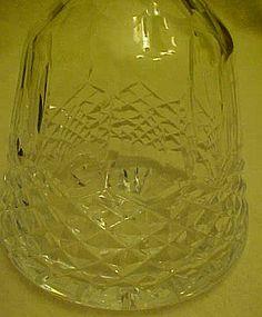 Cut lead crystal liquor decanter
