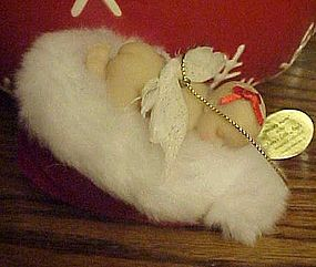 Ashton Drake Santas little Angels Snuggly warm ornament