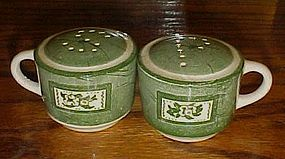 Royal Colonial Homestead salt and pepper shakers