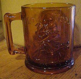 Tiara Amber Nursery Rhyme mug.Humpty Dumpty.