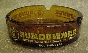 Sundowner Hotel Casino souvenir ashtray