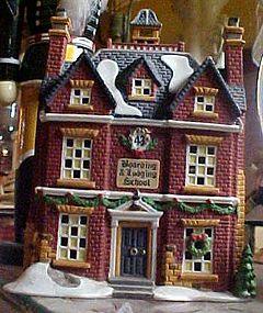 Dept 56 Dickens Boarding & Lodging village house
