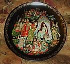 Russian Legends plate, The Golden Cockerel