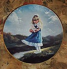 Dino Mosseroni collector plate Just you and me