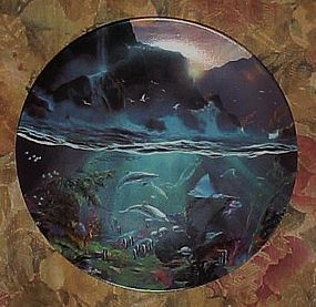 World beneath the waves Dale TerBush First plate