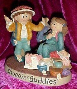 1999 Zingle-Berry Shoppin' Buddies figurine