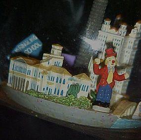 Musical Water globe Ringling Bros Clown School