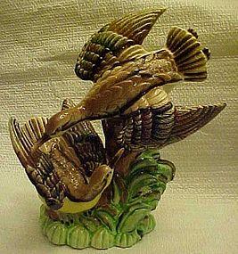 Vintage Sandpipers figurine hand painted Japan